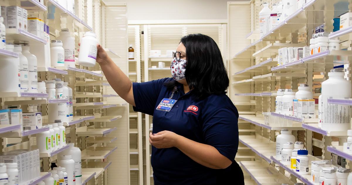 Pharmacist at HEB pharmacy