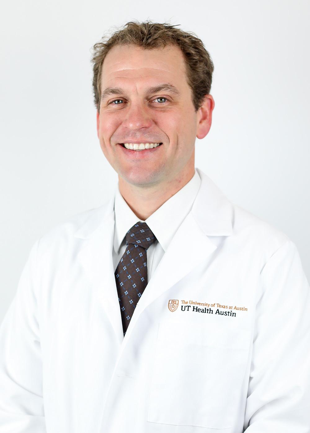 Garrett Key at UT Health Austin