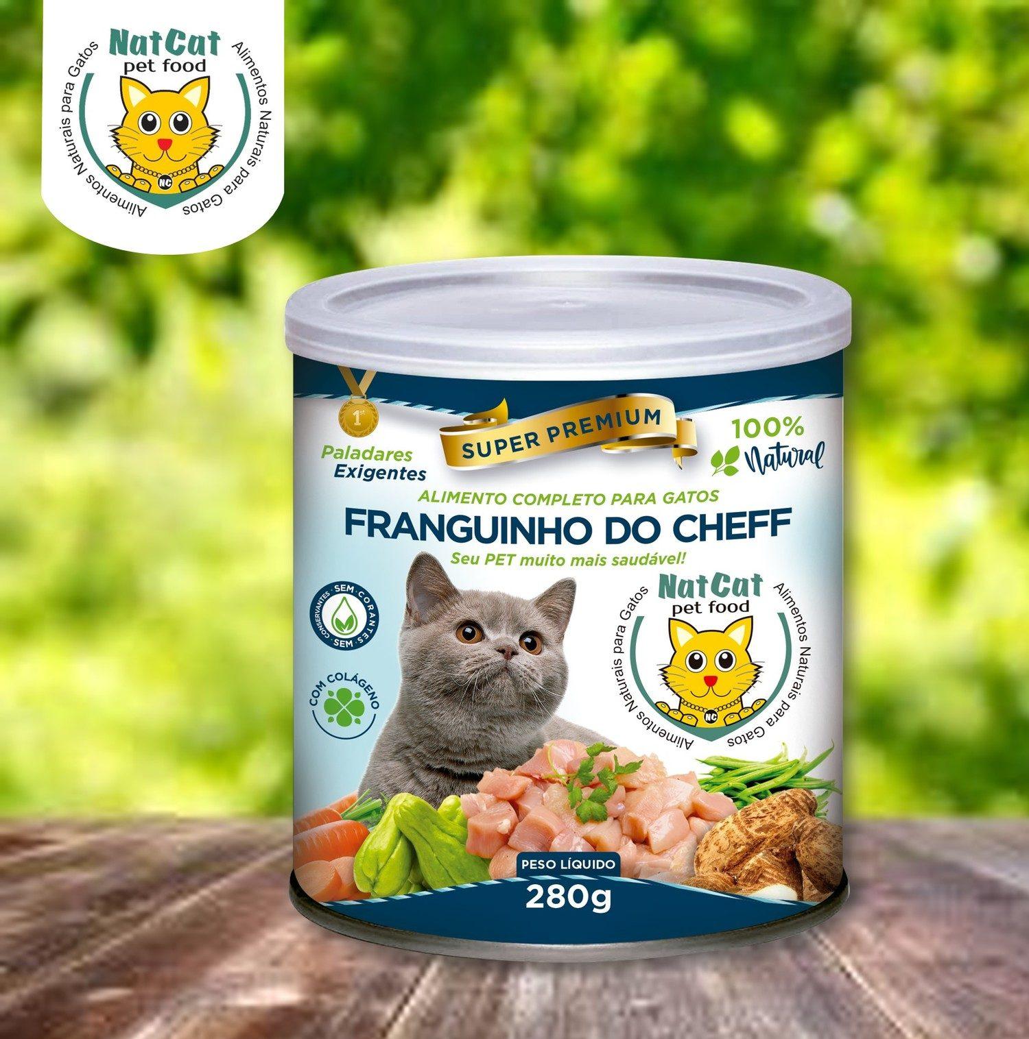 ALIMENTAÇÃO NATURAL FRANGUINHO DO CHEFF 12 unds x 280 Gr