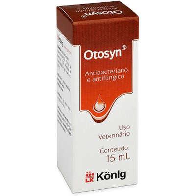 Antibacteriano e Antifúngico König Otosyn - 15 mL