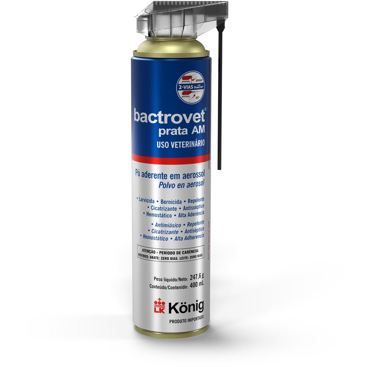 Bactrovet Prata DUAL TAP - 400ML