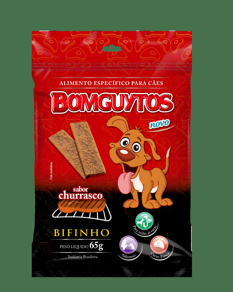 Bifinho Bomguytos Churrasco (80 unidades de 65Gr)