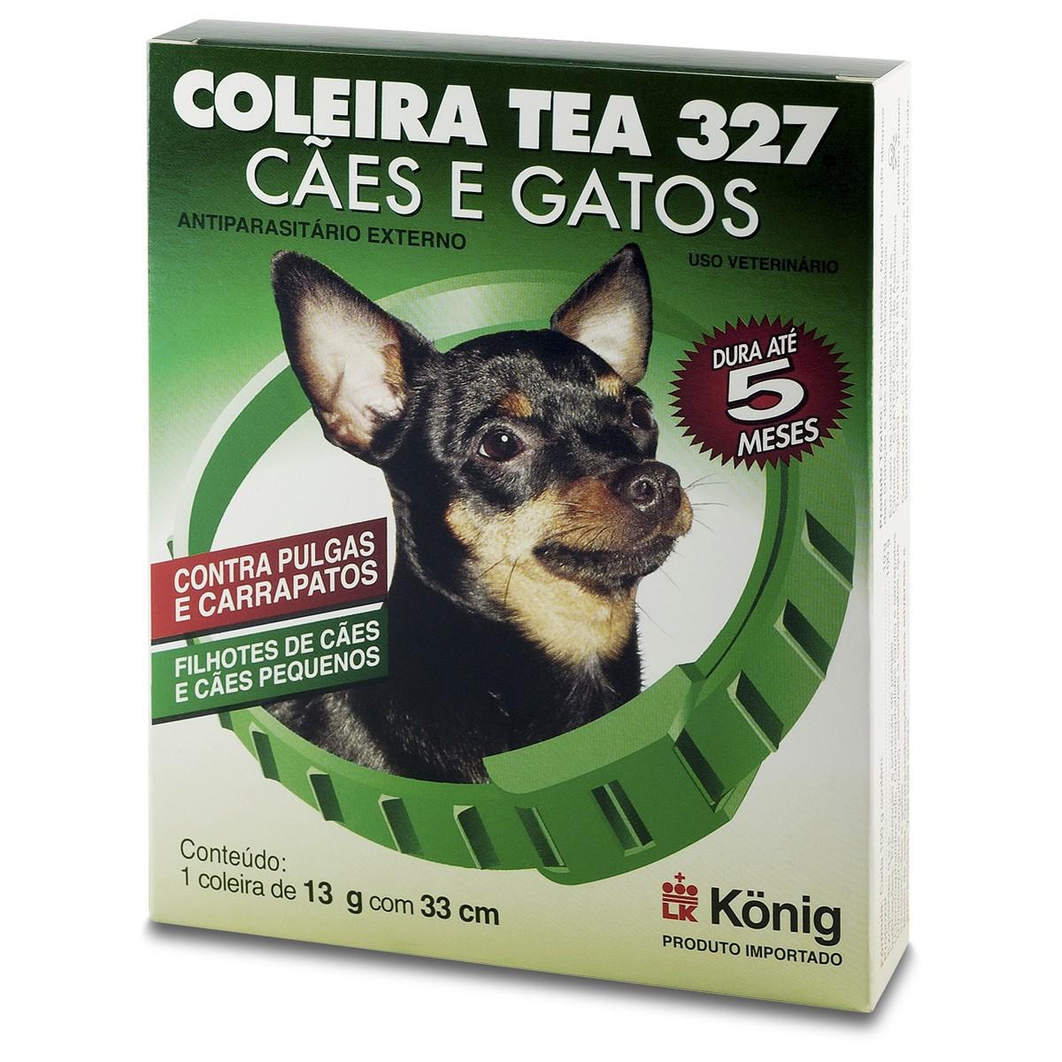 Coleira Antipulgas para Cães Tea Konig 13gr 33cm
