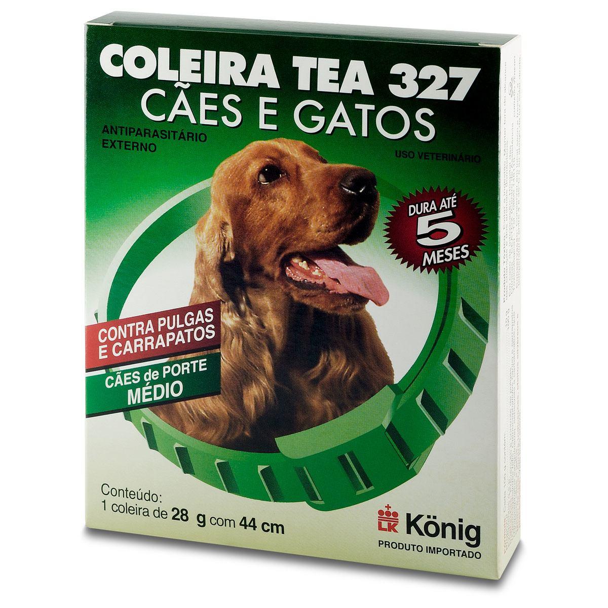 Coleira Antipulgas para Cães Tea Konig 28gr 44 cm