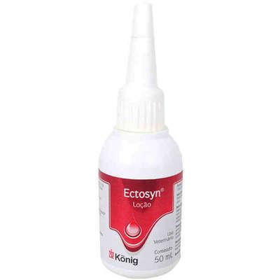 Loção König Ectosyn Fungicida e Sarnicida para Cães 50 ml