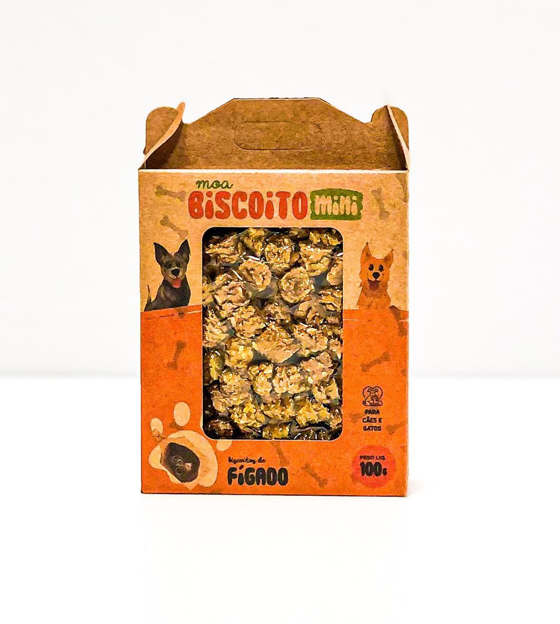 MOABISCOITO MINI - Figado 100GR