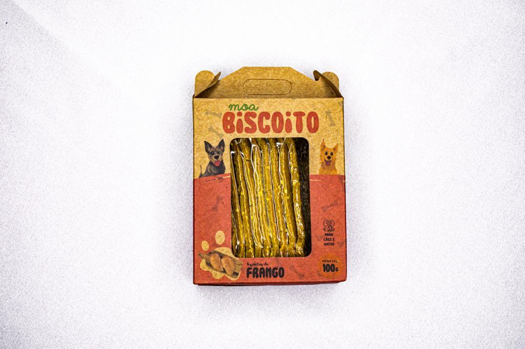MOABISCOITO OSSINHO - Frango 100GR