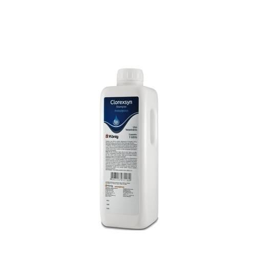 Shampoo Ação Antisséptica König Clorexsyn 1 LT