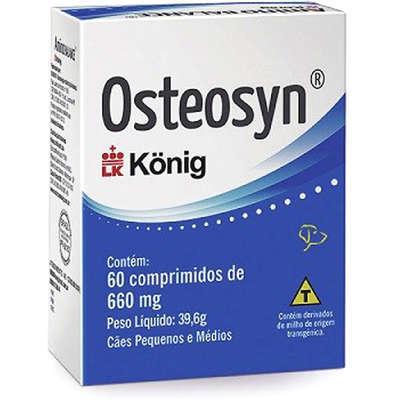 Suplemento Konig Osteosyn Condroprotetor e Regenerador Osteo-Articular 60 comprimidos 660
