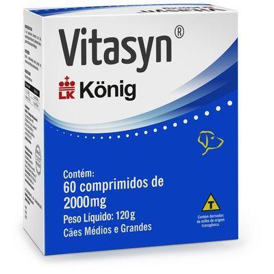 Suplemento Vitasyn 2000mg com 60 comprimidos König