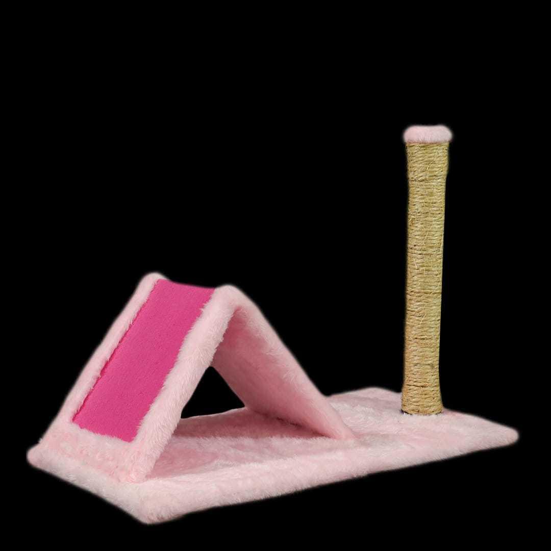 Arranhador Triângulo Rosa