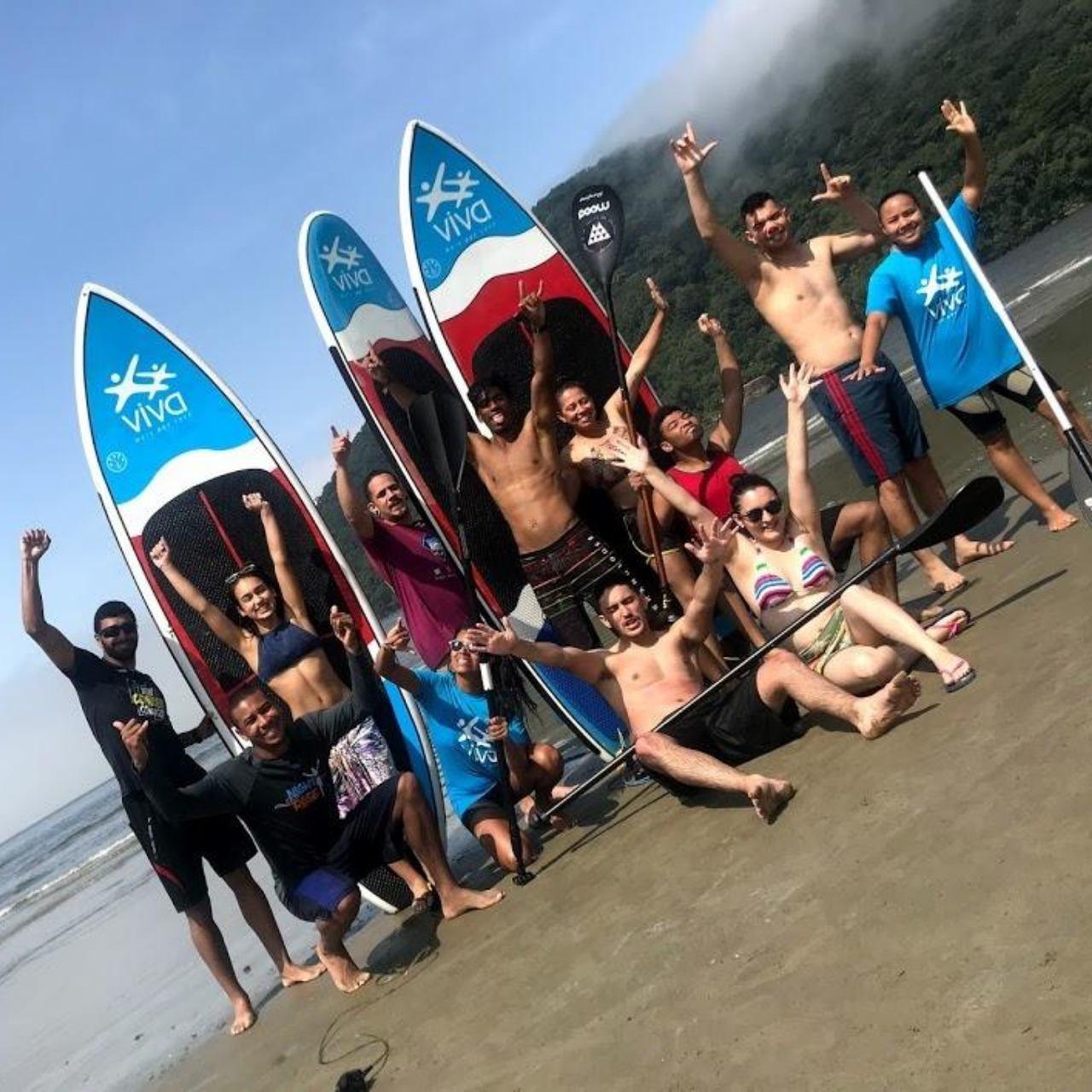 Curso de Surf e Stand up Paddle