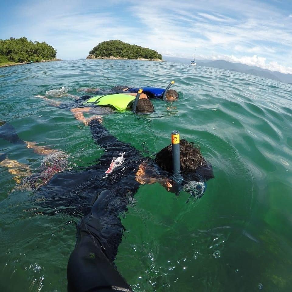 Mergulho de Flutuação para 2 pessoas na Ilha das Couves em Ubatuba-SP