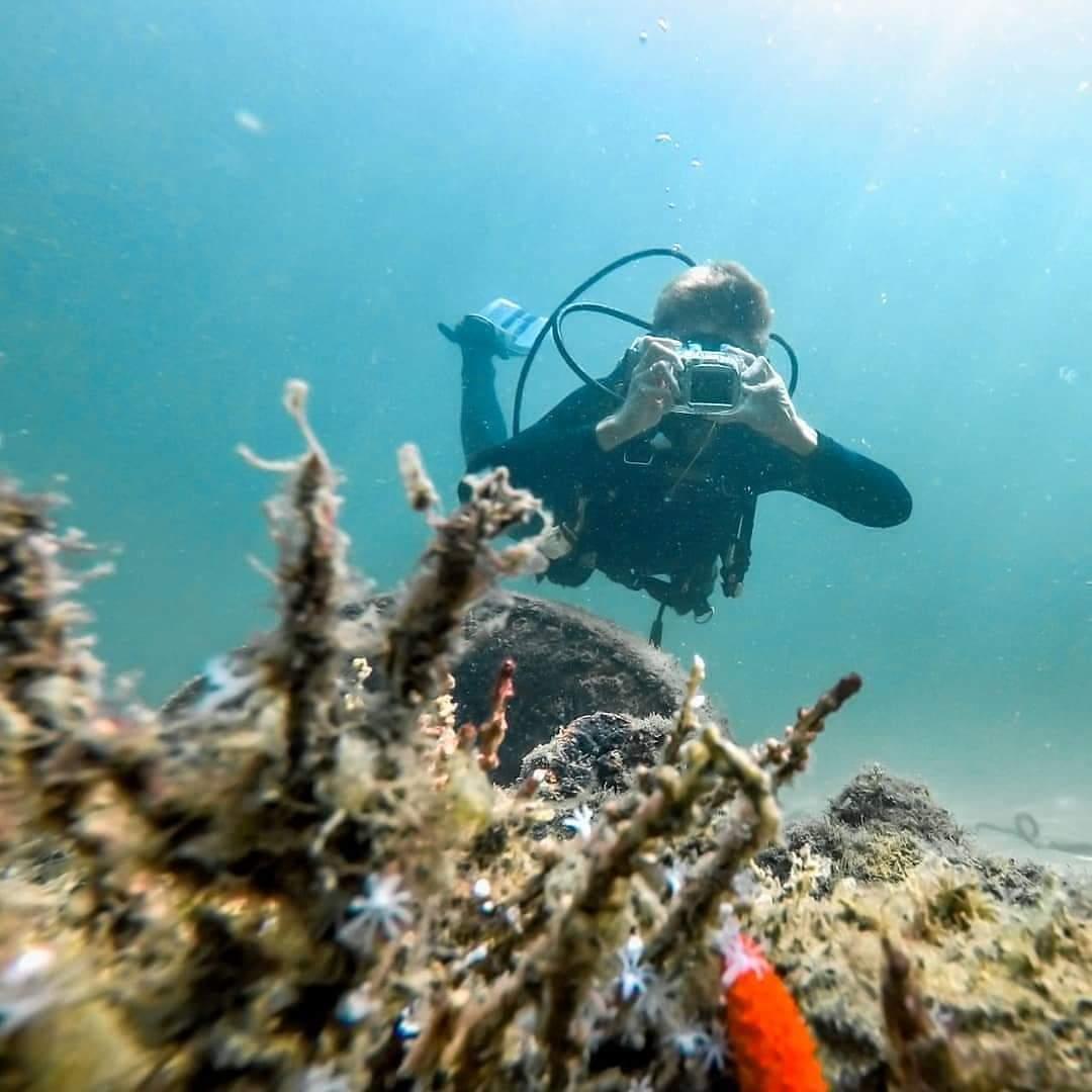 Mergulho para  7 pessoas em Ilhabela-SP