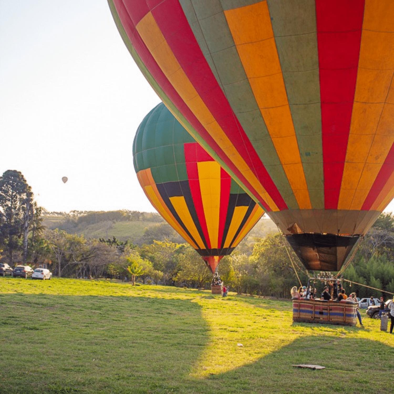 Passeio de Balão para Família em Boituva-SP (DOIS ADULTOS E 2 CRIANÇA DE ATÉ 10 ANOS)