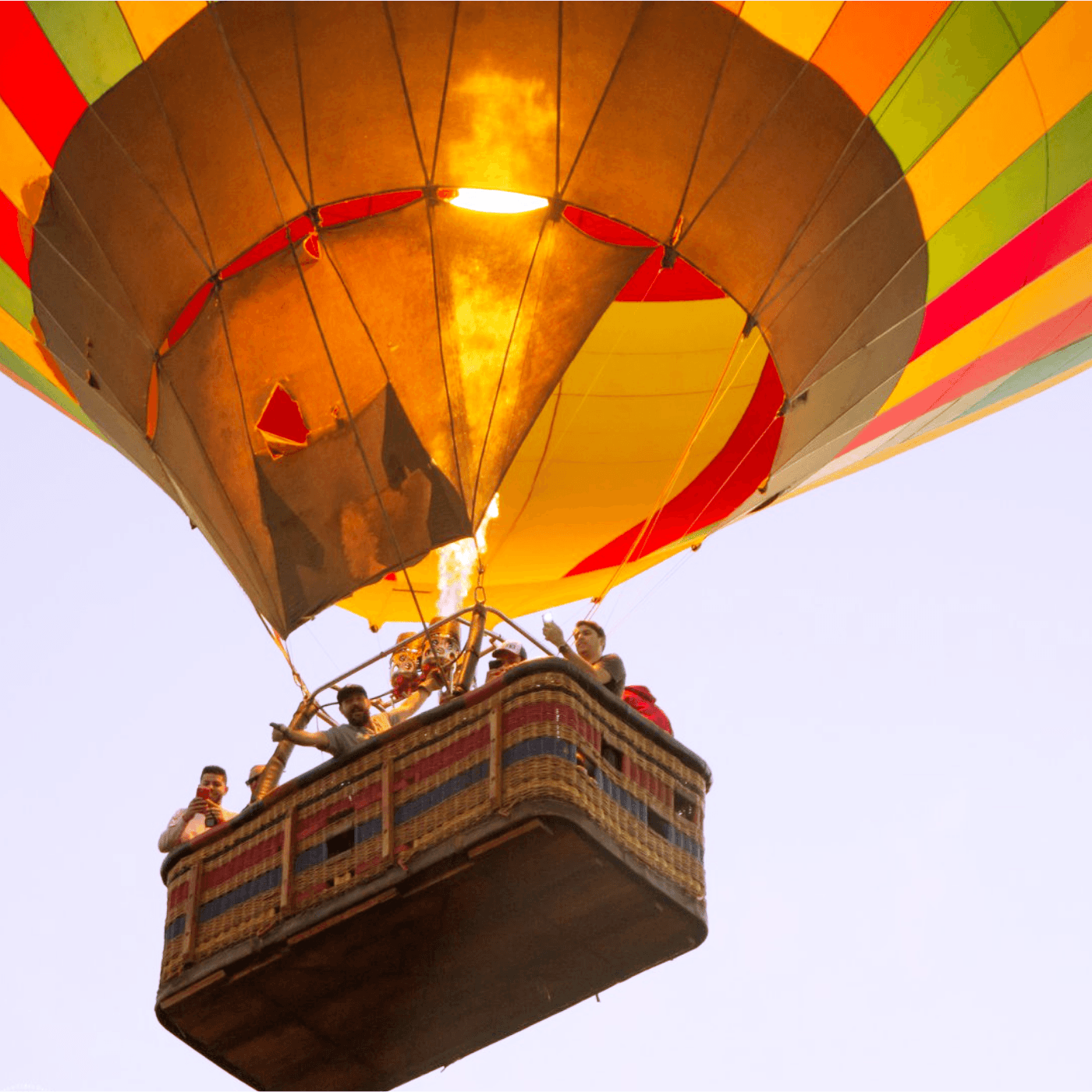 Passeio de Balão no Por do Sol em Boituva-SP