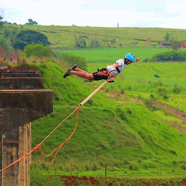 Rope Jump Ponte do Esqueleto em Limeira-SP