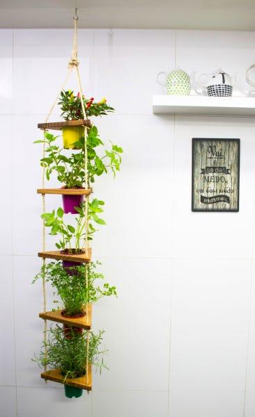 horta suspensa vertical