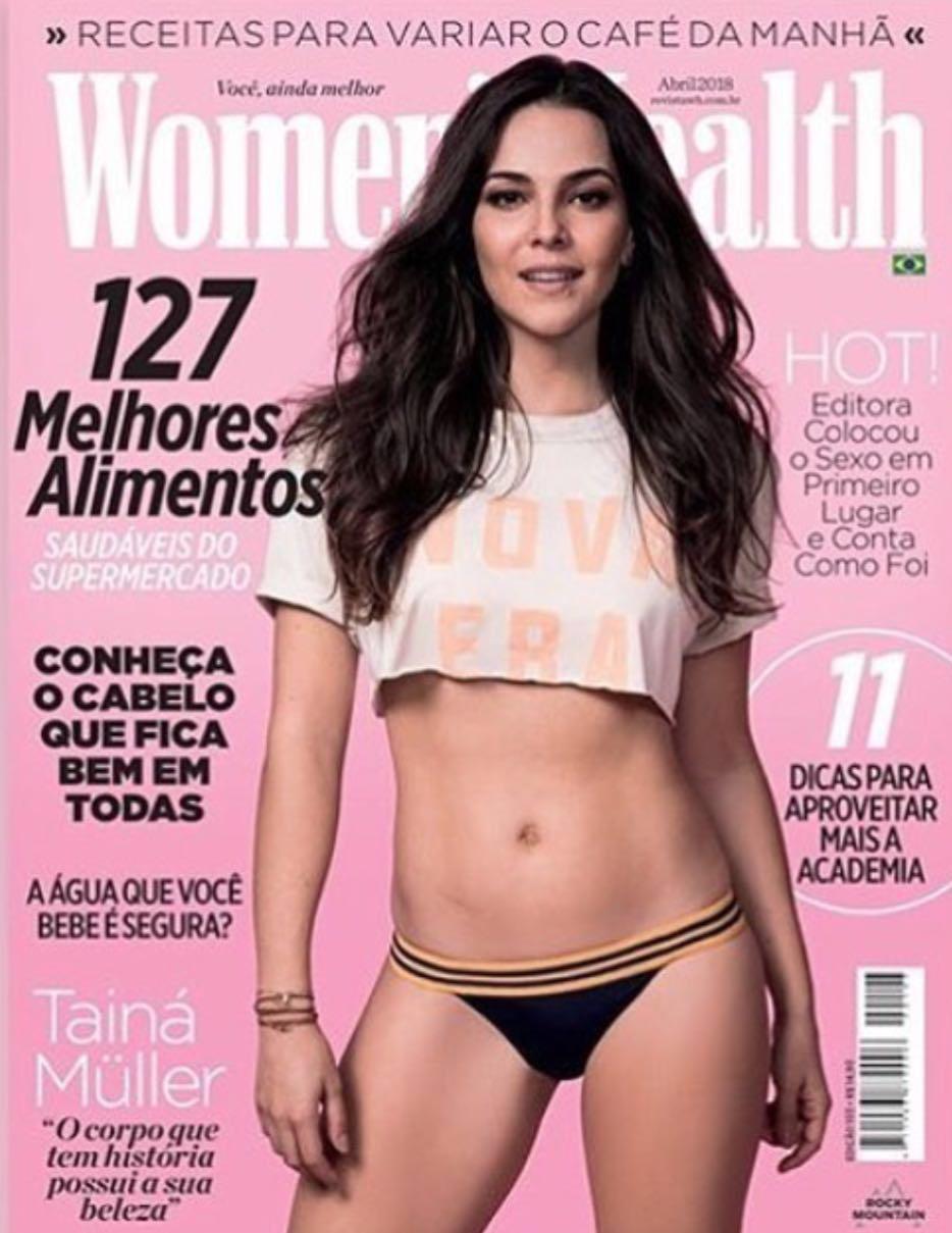 Capa revista Womens Health Dez 2019