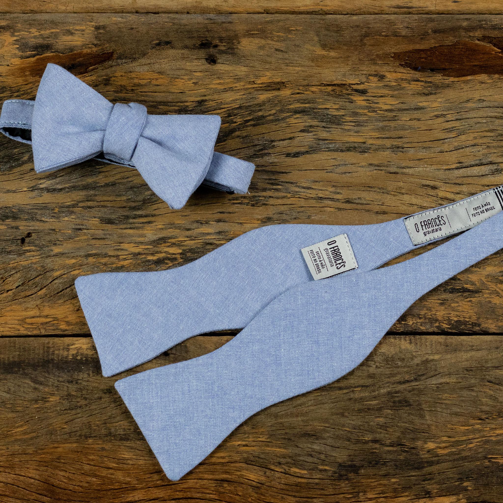 gravata borboleta sem nó