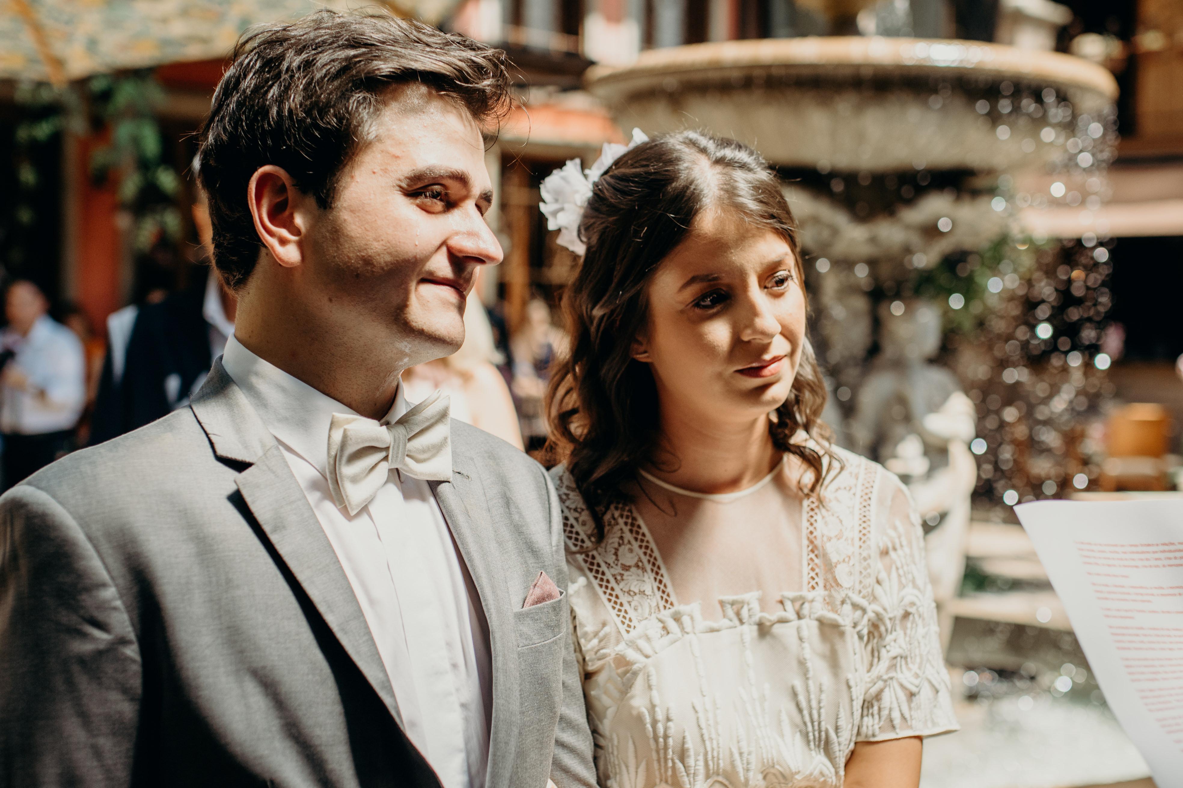 gravata de linho para o noivo