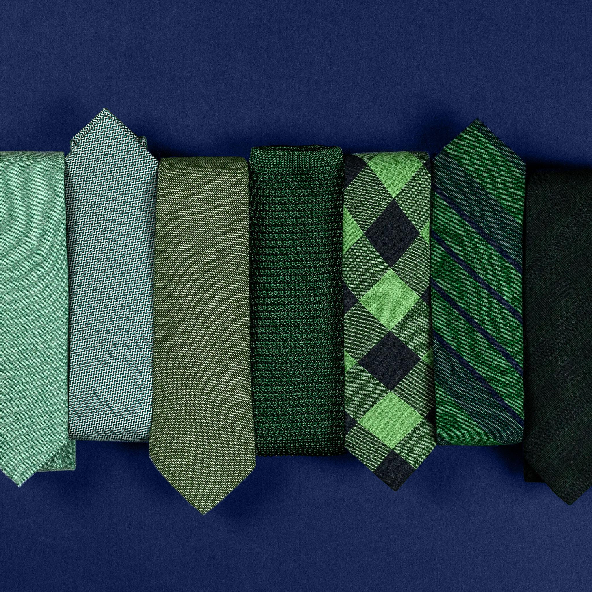 gravata verde
