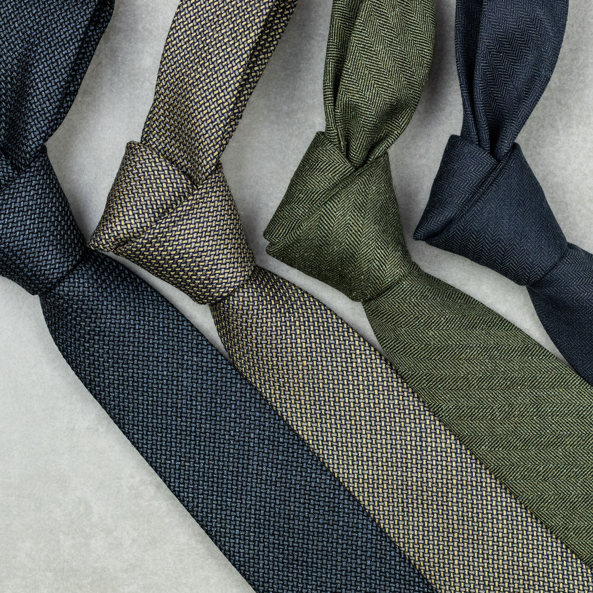 gravata de lã