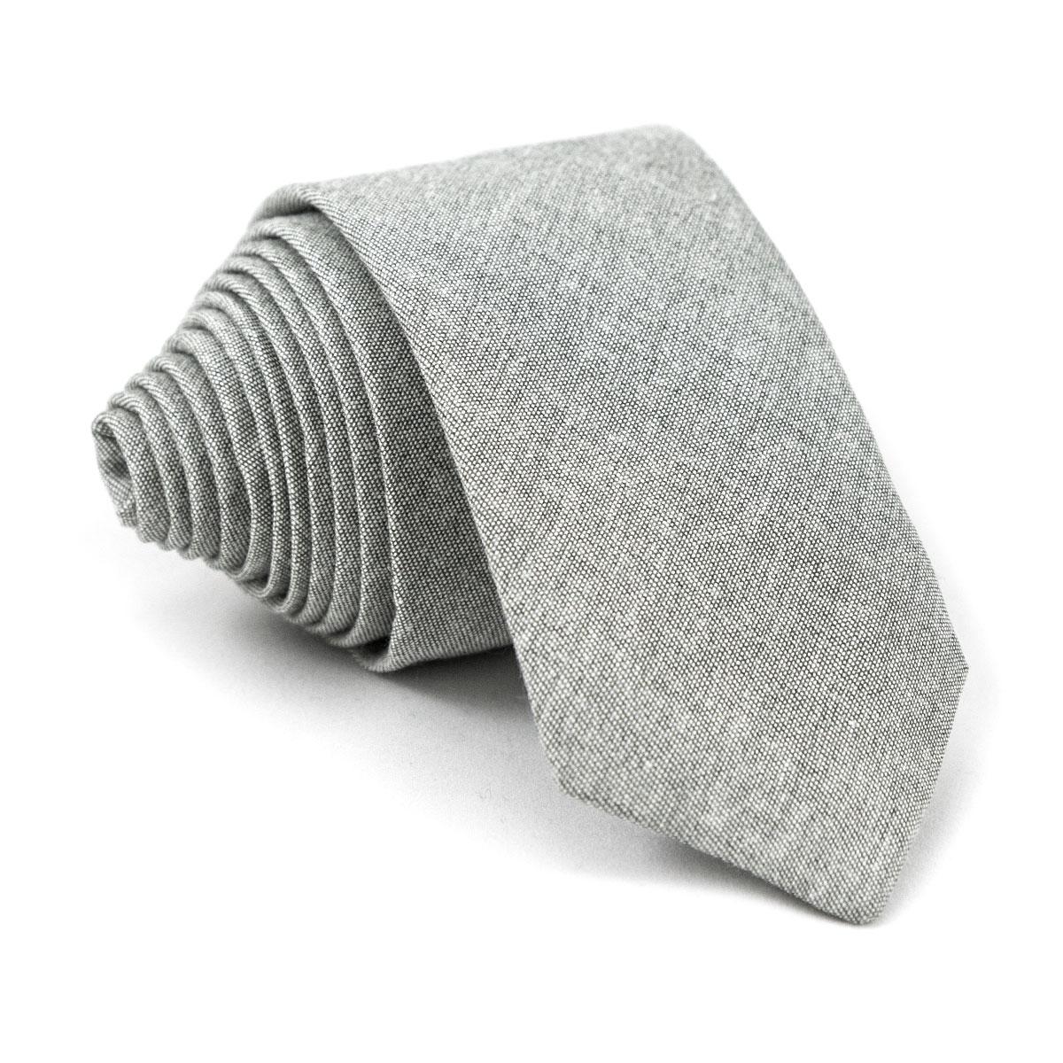 gravata cinza