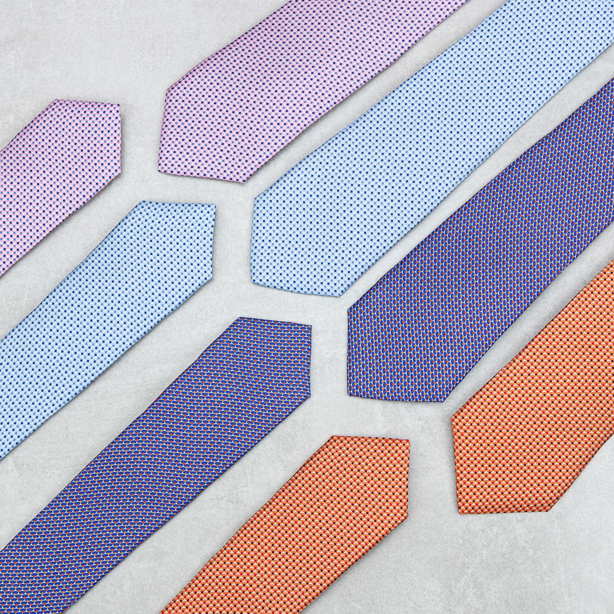 Gravata slim x gravata regular
