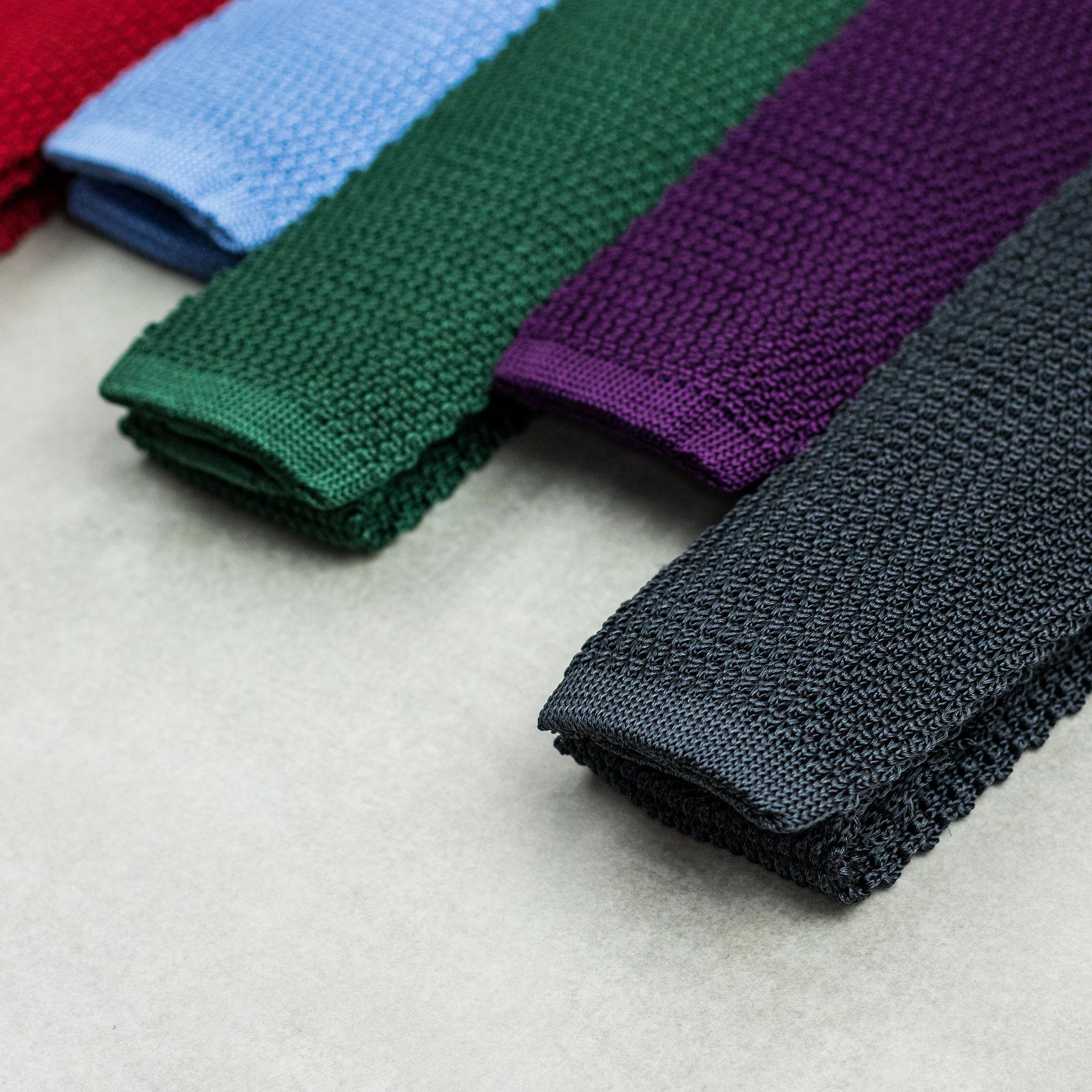 Gravata de tricot