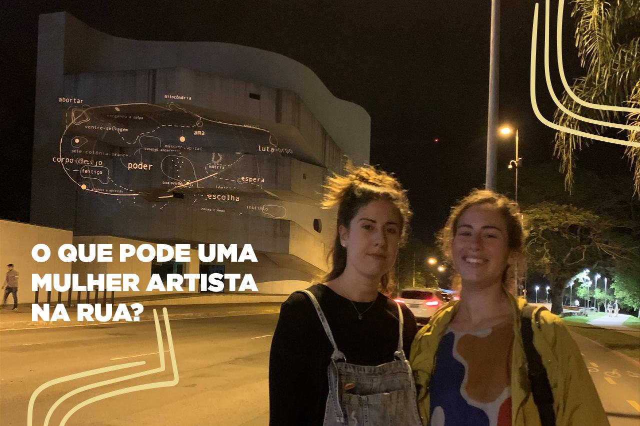 O que pode uma mulher artista na rua?