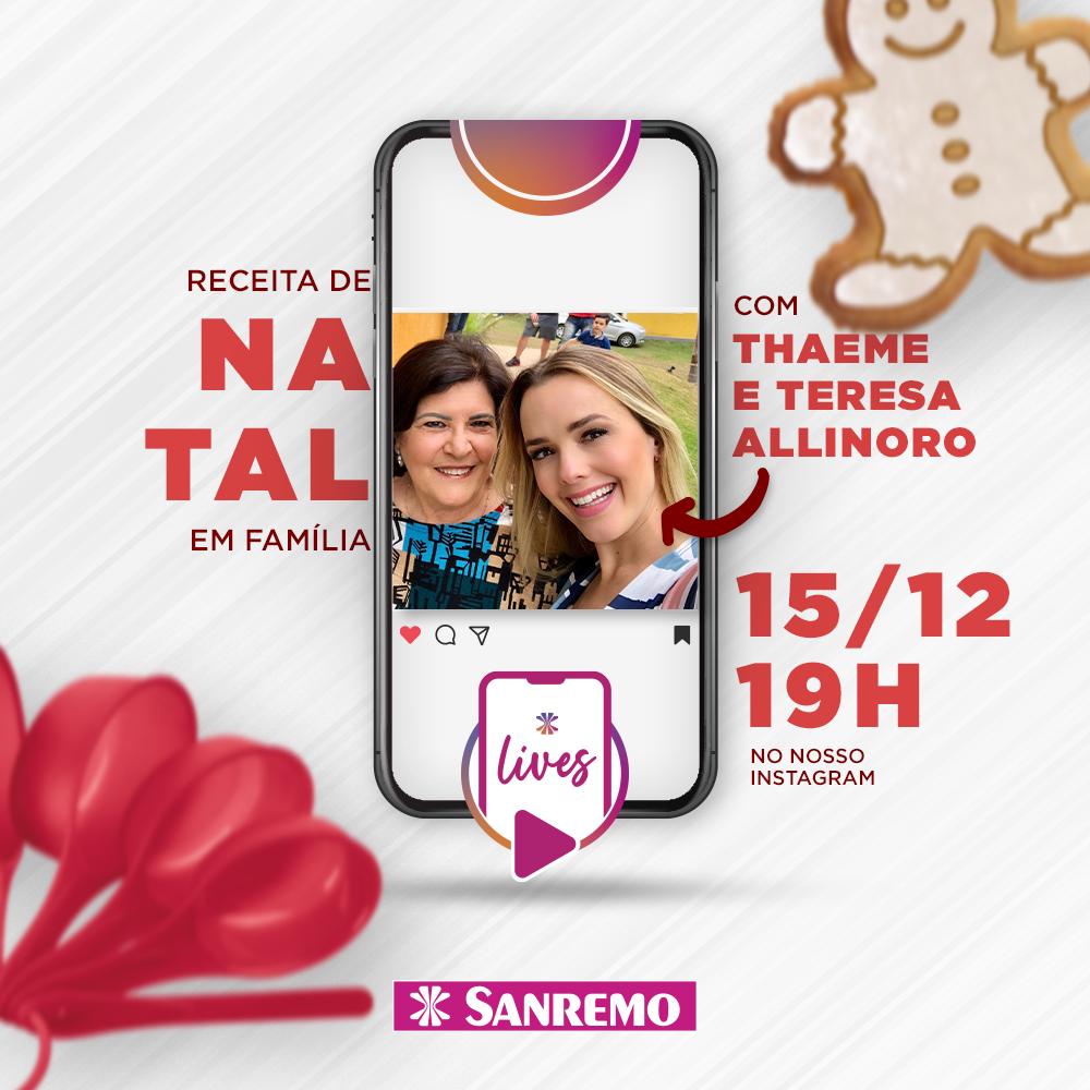 Ceia de Natal com Thaeme e Sanremo