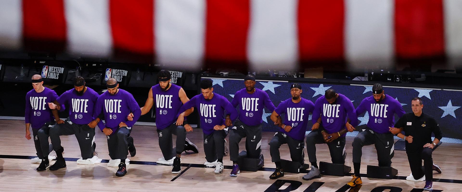 A PARTICIPAÇÃO DA NBA NAS ELEIÇÕES AMERICANAS