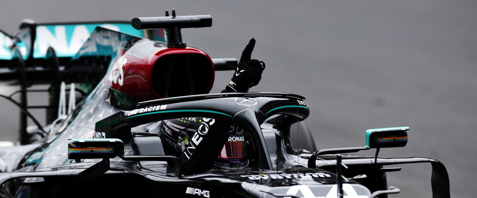LEWIS HAMILTON MAKES HISTORY AT THE F1 ONCE AGAIN
