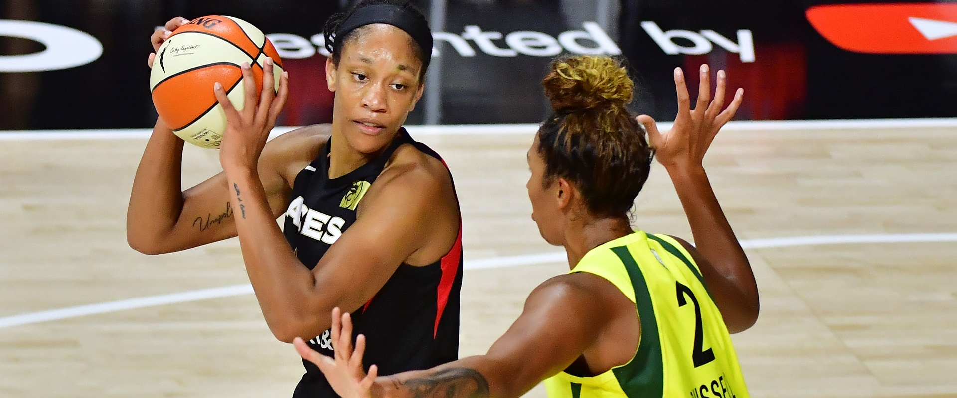 A'JA WILSON IS A LANDMARK OF INSPIRATION FOR NEW GENERATIONS