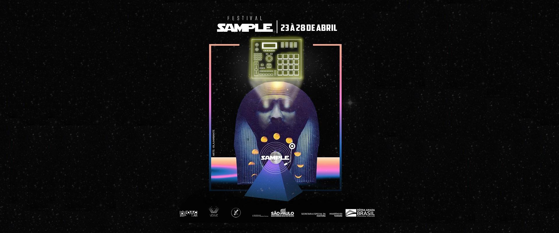 DJS E PRODUTORES EXPLICAM O USO DO SAMPLE EM FESTIVAL VIRTUAL