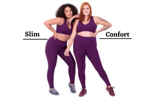 Conheça as modelagens Slim e Confort