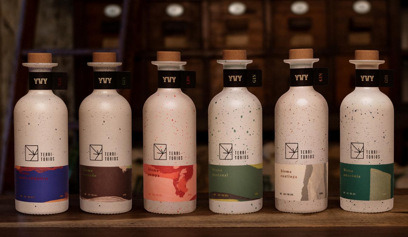 A partir de uma odisseia pelos biomas brasileiros, nascem seis gins de personalidades únicas