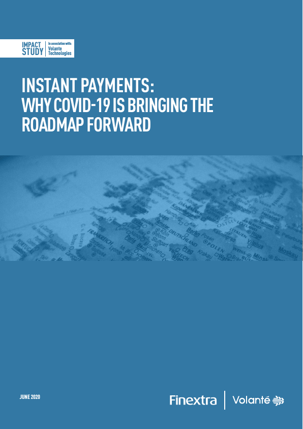 Finextra Impact Study Instant Payments COVID