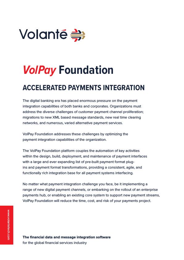 VolPay Foundation Brochure