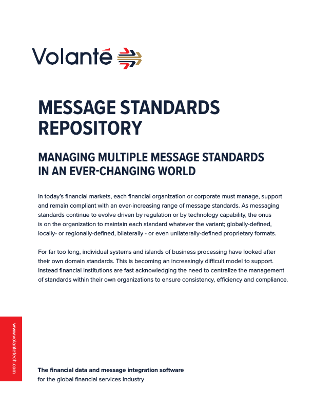 Message Standards Repository