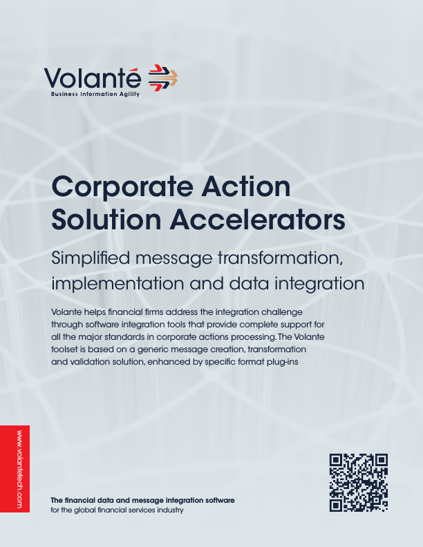 Volante for Corporate Actions
