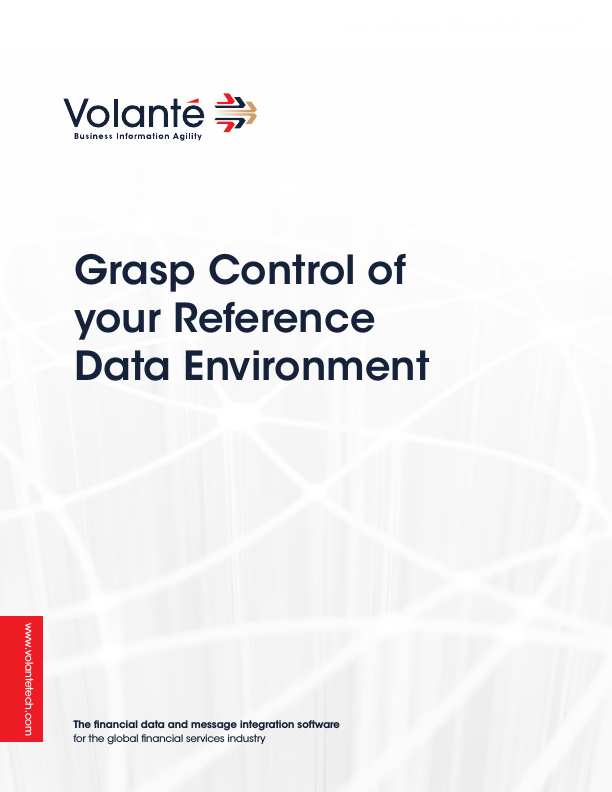 Grasp Control of Your Reference Data Environment
