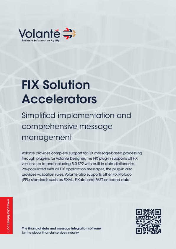 FIX Solution Accelerators