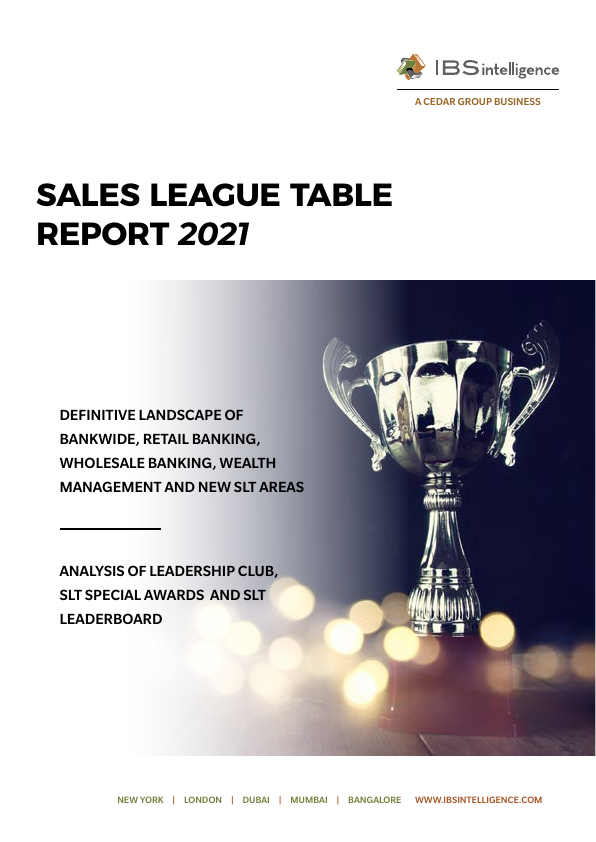 IBS Sales League Table Report 2021