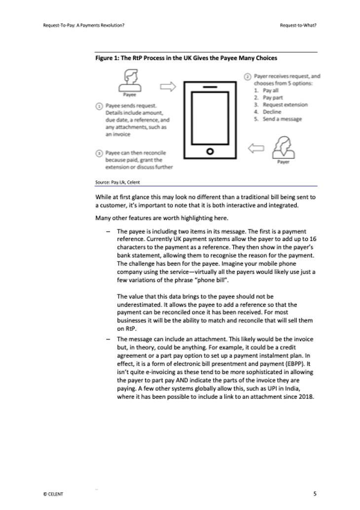 Celent Request to Pay - page 2