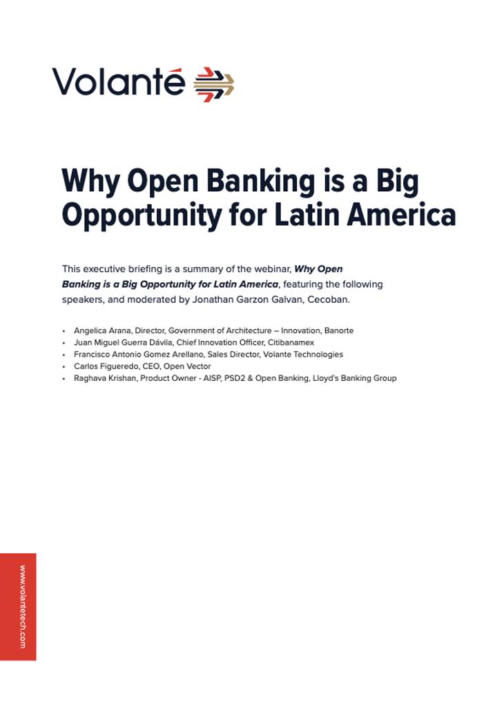 Open Banking in LatAm Webinar Summary  - page 1