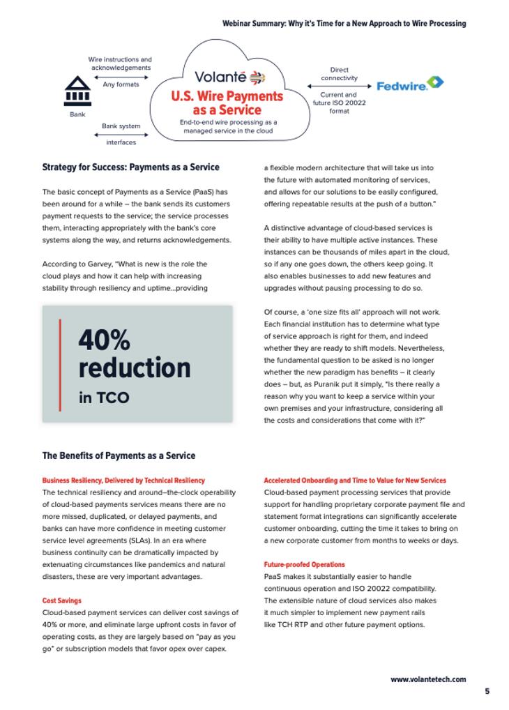 Fedwire Webinar Summary - page 3
