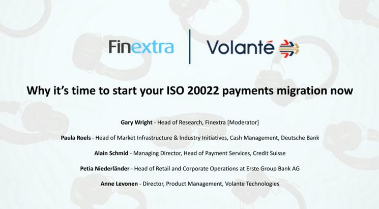 Webinar: ISO 20022 Migration