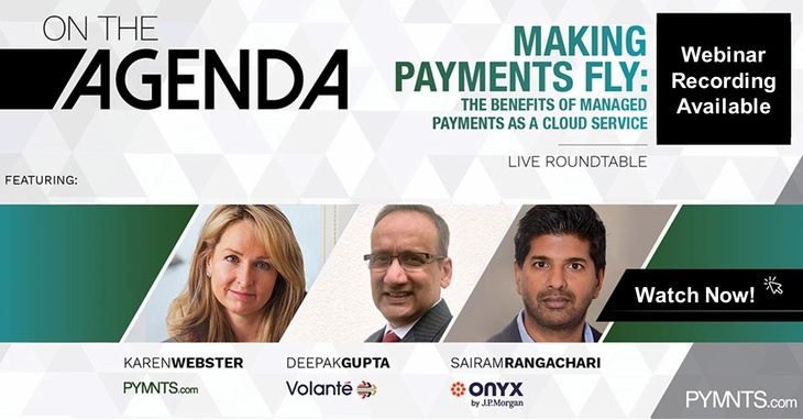 Making Payments Fly - The Benefits of Managed Payments as a Cloud Service
